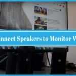 How to Connect Speakers to Monitor With HDMI