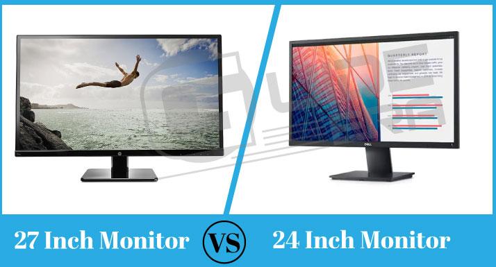 27 Inch Vs 24 Inch Monitor