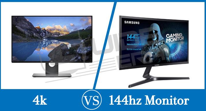 4k VS 144hz monitors