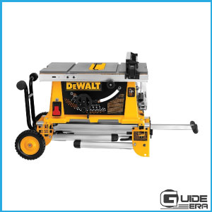 DEWALT 744XRS with rolling stand