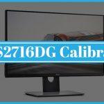 Dell S2716DG Calibration