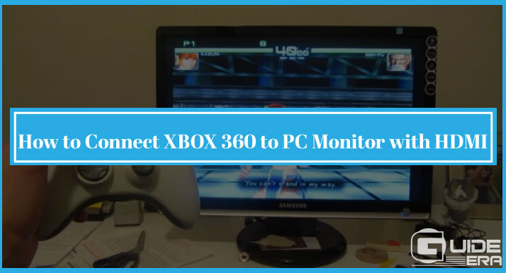 How to Connect XBOX 360 to PC Monitor with HDMI