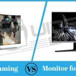 Monitor VS TV For Gaming